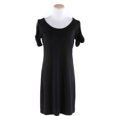 Fifteen Twenty Twist Cold Shoulder Black Dress