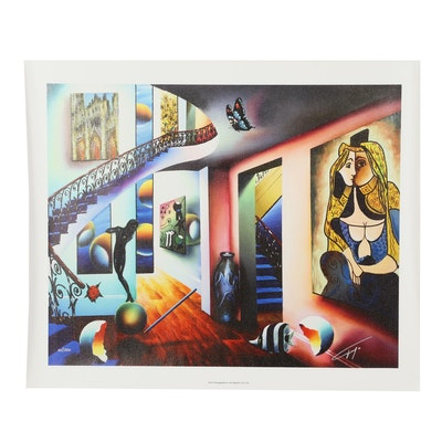 "Ferjo Giclee ""Passageways to the Masters"""