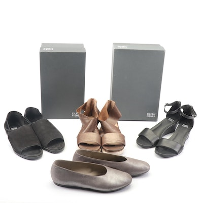 Eileen Fisher Sandals, Wedge Sandals and Flats