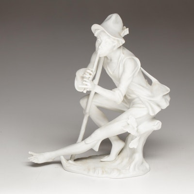 "Kaiser ""Pied Piper"" Porcelain Figurine"