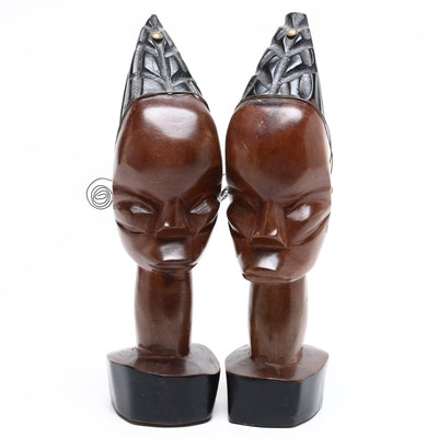 Export African Style Handcrafted Wood Carvings, Contemporary