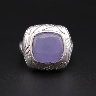 Sterling Silver Jadeite Ring