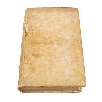 """1601 """"Medicinae utriusque syntaxes"""" by Johann Jacob Wecker"""