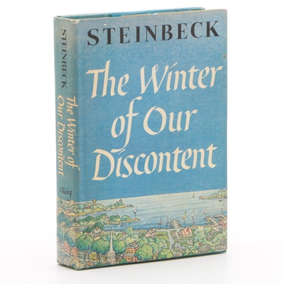 "1961 First Trade Edition ""The Winter of Our Discontent"" by John Steinbeck"
