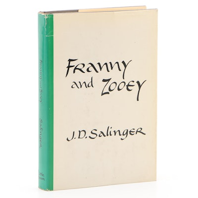 "First Edition ""Franny and Zooey"" by J. D. Salinger, 1961"