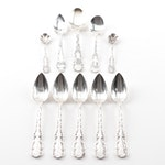 "Whiting Division Sterling Silver ""Louis XV"" Spoon Grouping"