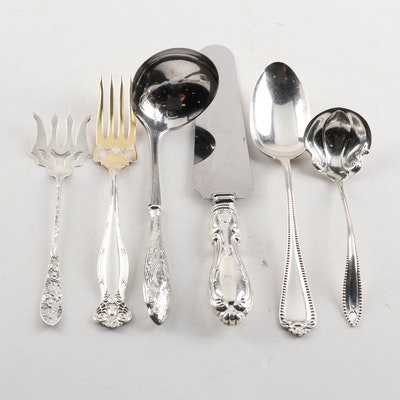 American Sterling Silver Serving Pieces by Weidlich, Wallace, and Towle