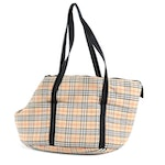 "Burberry London ""Nova Check"" Pet Carrier Tote"