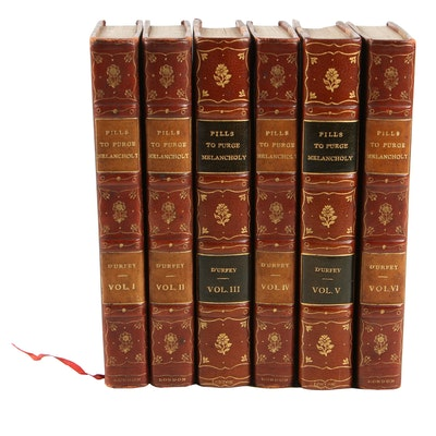 """1719 """"Songs Compleat, Pleasant and Divertive"""" in Six Volumes by Thomas d'Urfey"""