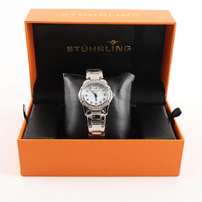 Stührling Stainless Steel Wristwatch