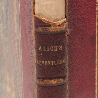 "1866 First Edition Second Issue ""Alice's Adventures in Wonderland"" by L. Carroll"