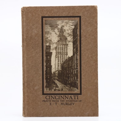 "Signed E. T. Hurley ""Cincinnati"" Book, 1916"