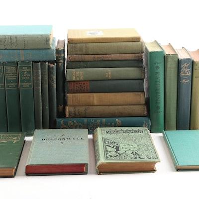 Vintage Books Featuring Jane Austen, George Orwell, Anya Seton