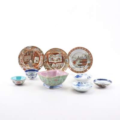 Chinese and Japanese Porcelain Dinnerware, 19th Century