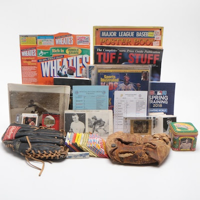 Baseball Collectibles Including Cards, Publications, and More