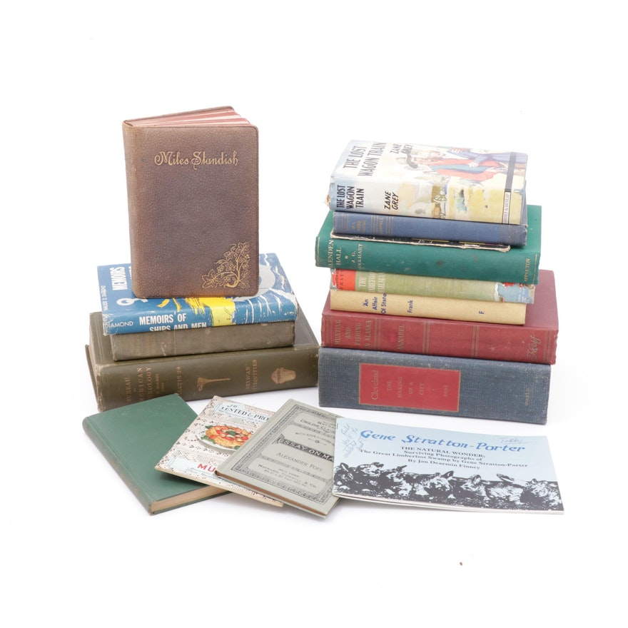 Fiction and Non-Fiction Books, Vintage and Antique