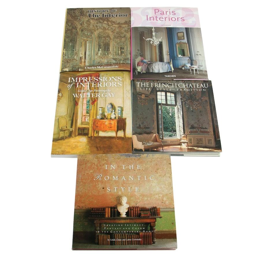 """European Interior Design Books featuring """"Impressions of Interiors"""""""