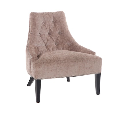 Contemporary Modern Upholstered Lounge Chair