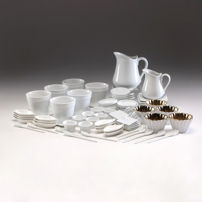 Crate & Barrel Porcelain Dinnerware