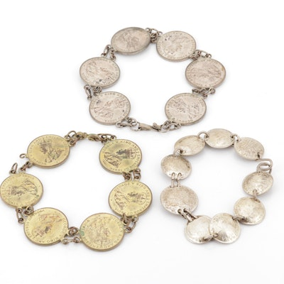 Foreign Currency Bracelets