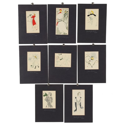 Late 20th Century Serigraphs Portfolio after Henri De Toulouse-Lautrec