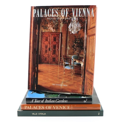 Books on Italian and Viennese Homes and Gardens