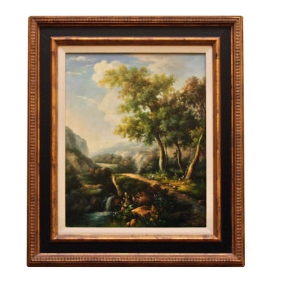 Carmen Mangenillo Oil Painting of Landscape