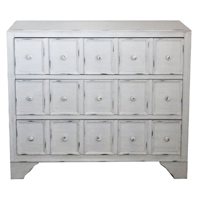 Contemporary Distressed Chest of Drawers