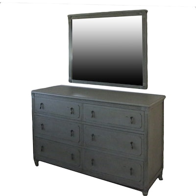 Contemporary Chest of Drawers with Mirror