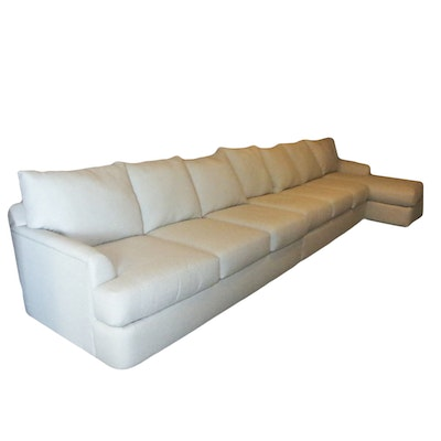 Contemporary Upholstered Sectional Sofa