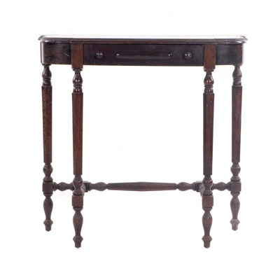 D.H. Fritts Mahogany End Table, Antique