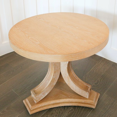Contemporary Distressed Wooden Cocktail Table