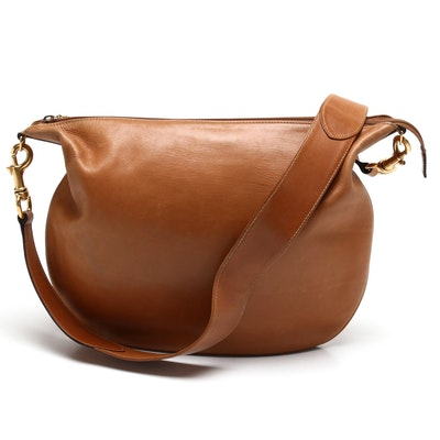 Gucci British Tan Leather Shoulder Bag