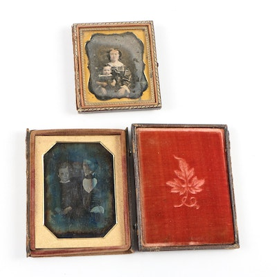 Antique Portrait Daguerreotypes