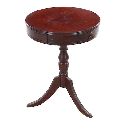 Cherry Accent Table, Circa Early 20th Century Vintage