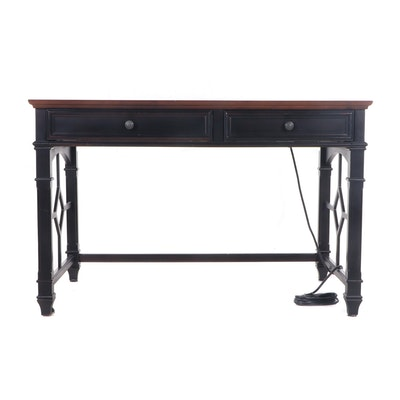 Aspenhome Engineered Wood Writing Table, Contemporary