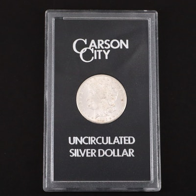 A GSA Very Low Mintage 1885-CC Carson City Morgan Silver Dollar