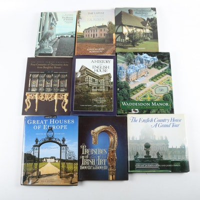 """Books on British Homes and Interiors including """"The Houses of Ireland"""""""