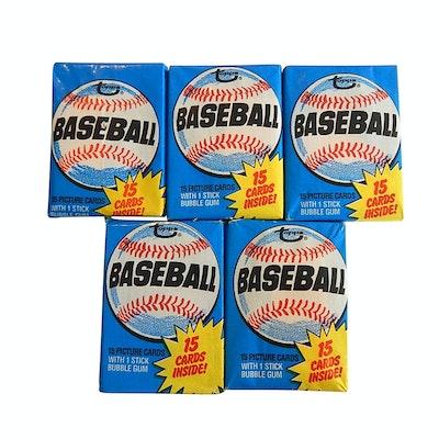 1980 Topps Baseball Card Packs
