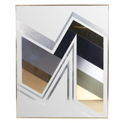 Greg Copeland Art Deco Style Mirror