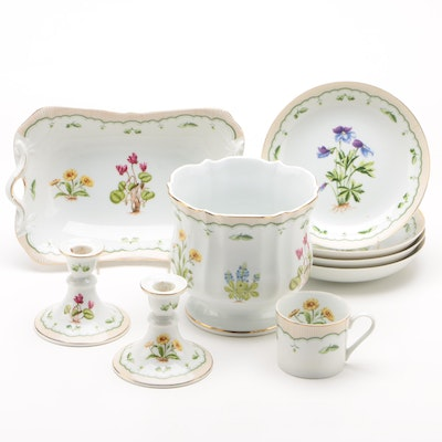 "Bone China ""Victorian Gardens"" By Georges Briard Tableware"