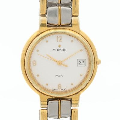 Movado Palio Two Tone Quartz Wristwatches