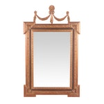 Bombay Outlet Carved Wood and Composite Wall Mirror, Contemporary