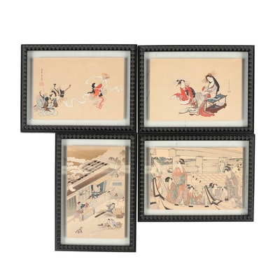 Japanese Ukiyo-e Woodblocks