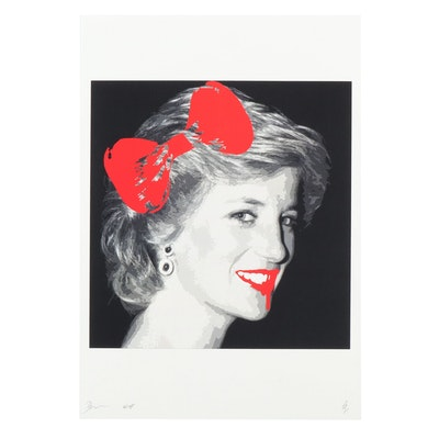 Death NYC Princess Diana Giclée