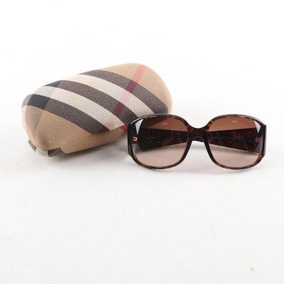 Burberry 4012 Tortoiseshell-Style Sunglasses and Case