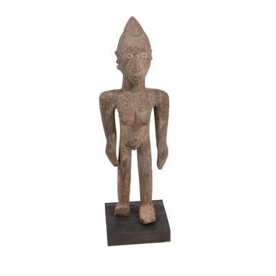 African Yoruba Standing Female Figure