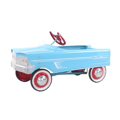 "1960s Murray V-Front ""Tee Bird"" Pedal Car with Original Paint"