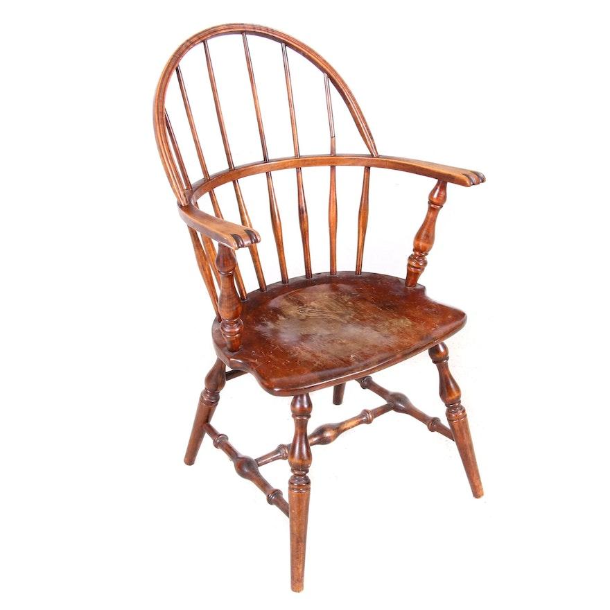 Windsor Style Armchair, Circa Early 20th Century