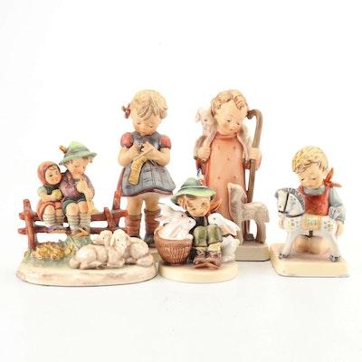 """Goebel Hummel """"Horse Trainer"""", """"Eventide"""" and Other Porcelain Figurines"""